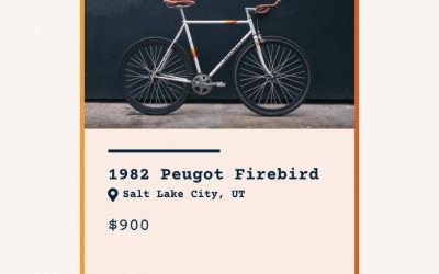 Listing Card for Used Bicycle Exchange